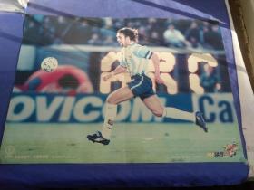 巴蒂斯图塔海报,阿根廷队海报,足球海报