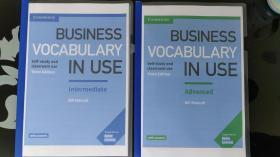 Business Vocabulary in Use Intermediate & Advanced 单本的价格 彩色实物书
