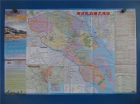 南沙区旅游交通图   区域图   城区图   对开地图