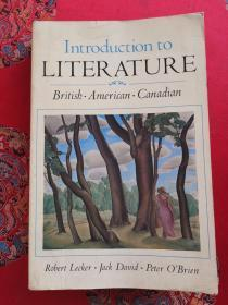 Introduction to Literature British•American•Canadian