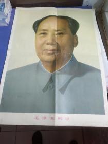 毛泽东画像 76*53cm