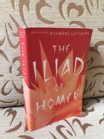 The Iliad of Homer 《荷马史诗之伊利亚特》- Richmond Lattimore 英译 - 高品质平装书