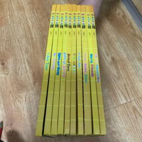 布朗儿童英语2.0 Level one book 1-10全册(含光盘2张,赠练习册光盘2张,无练习册。)