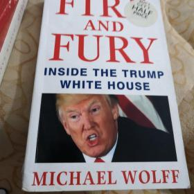 FIRE  AND  FURY  INSIDE   THE  TRUMP  WHITE   HOUSE      MICHAEL  WOLFF