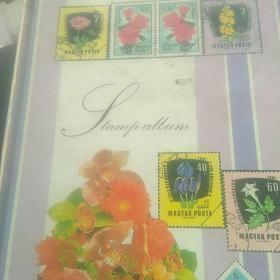 未使用的邮票册子