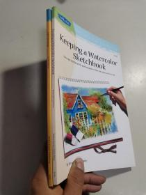 【共2册】Artists library series :( Cartooning+Keeping a Watercolor  Sketchbook)  AL14+AL46