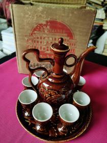 景德镇瓷器(两个酒杯有点破损)