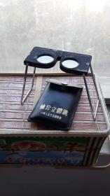 放大镜60年代,老立体放大镜(油漆有点脱落),可折叠伸缩,用途广泛。