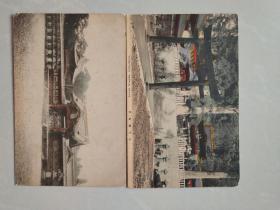 日伪时期明信片《日光阳明门》等两枚
