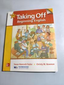taking off beginning english second edition 韦博国际英语(带光盘) 无字迹划线
