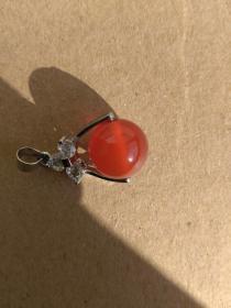 红玛瑙吊坠