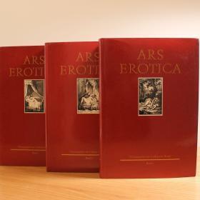 ARS EROTICA——德国18世纪情与色插图选(德文版3巨册全,道林纸)木刻插画 珍本 厚重 绝版 福柯的论著中曾经提及的书