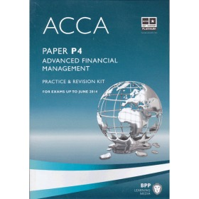 ACCA P4 Advanced Financial Management  (Revision Kit) 英文版 高级财务管理 练习册