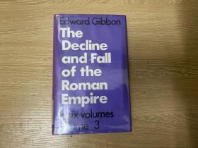 The Decline and Fall of the Roman Empire    吉本《罗马帝国衰亡史》,卷3(全套6卷),人人文库版,精装