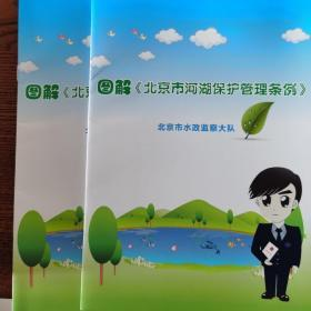 图解《北京市河湖保护管理条例》
