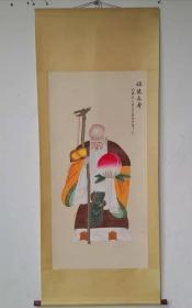 字画收藏仿古人物画大四尺中堂画手绘画画工精细042904