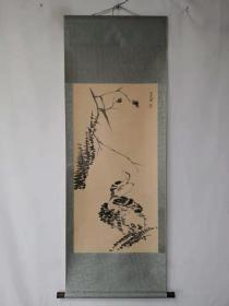字画收藏古动物画三尺中堂画手绘画画工精细112817T