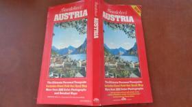 BAEDEKERS AUSTRIA   奥地利旅行指南(英文原版,附地图一张)
