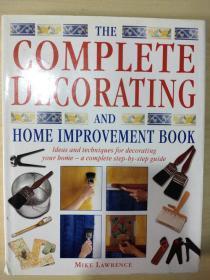The complete decorating and home improvement Book 完整的装饰和家庭装修手册 精装英文版 超厚850张照片图表