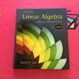 美版精装 Linear Algebra and Its Applications, 3rd Updated Edition (Book & CD-ROM) 3rd Edition 线性代数及其应用
