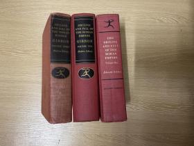 The Decline and Fall of the Roman Empire   吉本《罗马帝国衰亡史》,权威现代文库版,三卷全,布面精装,重约3公斤