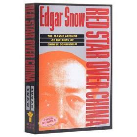 红星照耀中国 英文原版 Red Star over China Edgar Snow 埃德加·斯诺