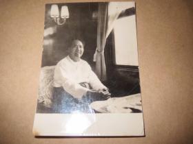 毛主席照片,背面有题子,单*富签名,1968年5月1日