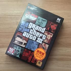 【游戏光盘】正版PC单机电脑游戏实体收藏Rock Star GTA3侠盗猎车手台版全新包邮