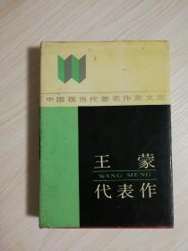 茅奖作家作品:《王蒙代表作》精装  王蒙签名签赠本