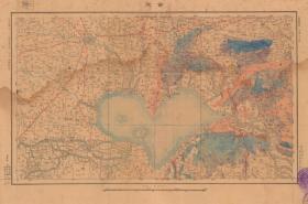 民国十一年(1922年)《合肥老地图》(原图现藏宝岛、原图复制)图题为《合肥》,图中包含合肥、巢湖、含山、无为、庐江、全椒等县。绘制详细,民国陆地测量局测绘军(事)地图,请看图片。安徽合肥巢湖含山无为庐江全椒老地图地理地名历史变迁重要史料。裱框后,风貌佳。
