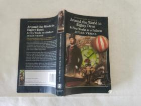 Around the World in Eighty Days:5 Weeks in a Balloon (Wordsworth Classics)