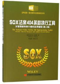 SOX法案404条款执行工具:对管理者和审计者的实用辅助 [美] 迈克