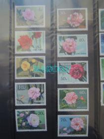 1979-T37云南山茶花(1套10枚)邮票