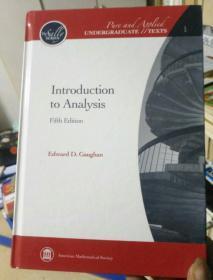 INTRODUCTION TO ANAIYSIS [ 分析导论]第五版