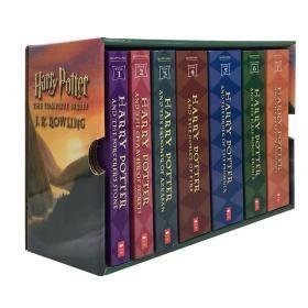 哈利波特英文原版HARRYPOTTER BOXSET1-7全集小说套装美版经典版