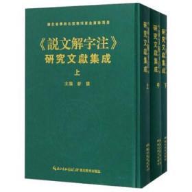 说文解字注(研究文献集成 16开精装 全三册)