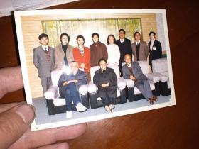 1995著名演员李默然来扬州纪行照片一册43张