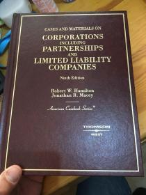 Cases and Materials on Corporations Including Partnerships and Limited Liability Companies精装 英文原版