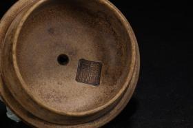 旧藏:梅竹诗文紫砂壶