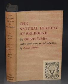 【特价】Natural History of Selborne– 《塞耳彭自然史》几乎全新插图本 大画家Claire Oldham木刻插图 原书衣全