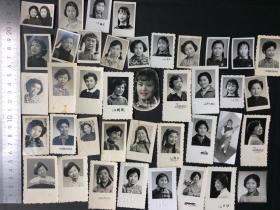 老照片 全部是美女 有些很漂亮 尺寸不大 约40张