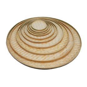 可绘图用的圆竹簸箕竹筛子直径70厘米的
