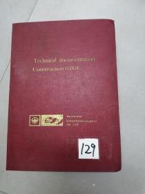 铁道部藏早期外文机车资料<维修说明技术文件>外文版129号