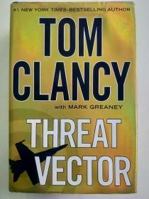 TOM CLANCY with MARK GREANEY THREAT VECTOR