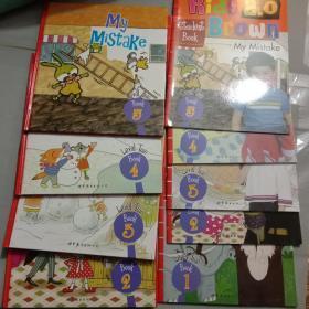 Kids Brown 2.0 布朗儿童英语 【Level 2】2.3.4.5+练习册1.2.3.4.5十本合售【缺1本书 】,精装本都附光盘, 库存书内页干净整齐