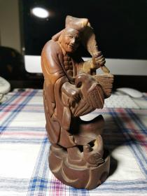 木雕——济公像