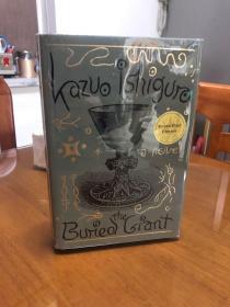 石黑一雄Kazuo Ishiguro小说《被掩埋的巨人》the buried giant美版精装亲笔签名本