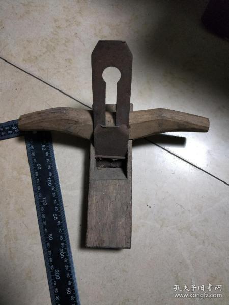 【包老包真】民俗老木匠工具,手刨子,老物件。难得一见,好木料。带刀刃。