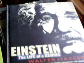 Einstein The Life of a Genius 爱因斯坦天才的一生(铜版彩印,精装,16开)