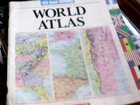 WORLD ATLAS (彩印,16开)
